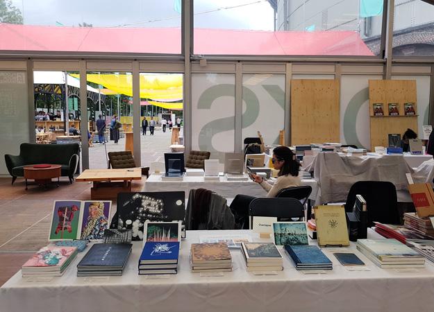 Overlapse at Unseen Book Market 2018